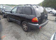 2002 Hyundai SANTA FE - KM8SC73D82U334632 [Angle] View
