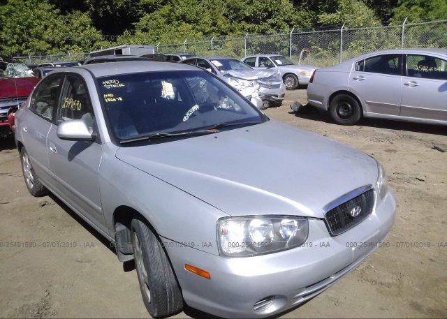 Inventory #802165287 2002 Hyundai ELANTRA