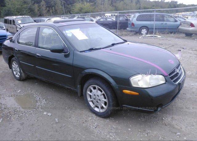 1n4aa5ap3ec496157 Clear Black Nissan Maxima At Memphis Tn On
