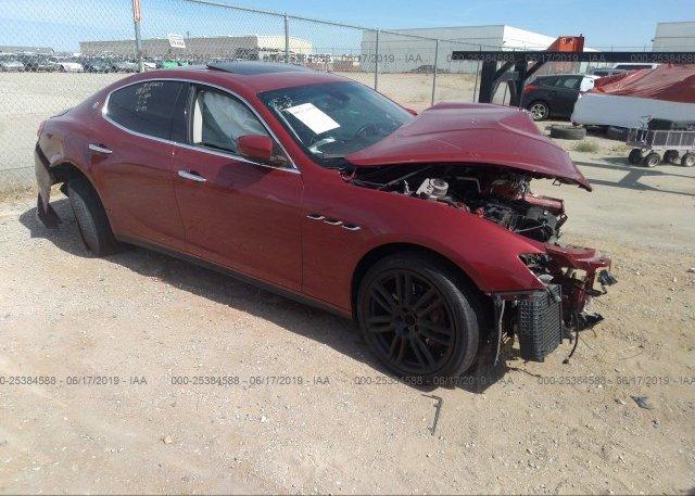 Inventory #744342530 2016 Maserati GHIBLI