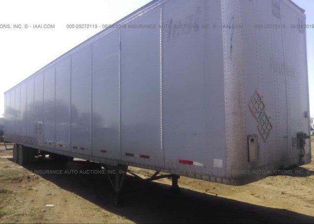 Inventory #756346131 2000 WABASH NATIONAL CORP VAN