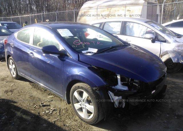 Inventory #185971075 2013 Hyundai ELANTRA