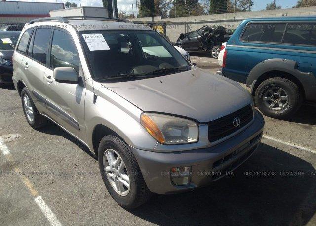 Inventory #326878817 2001 Toyota RAV4