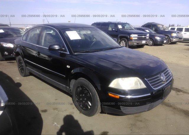 Inventory #833652237 2003 Volkswagen PASSAT