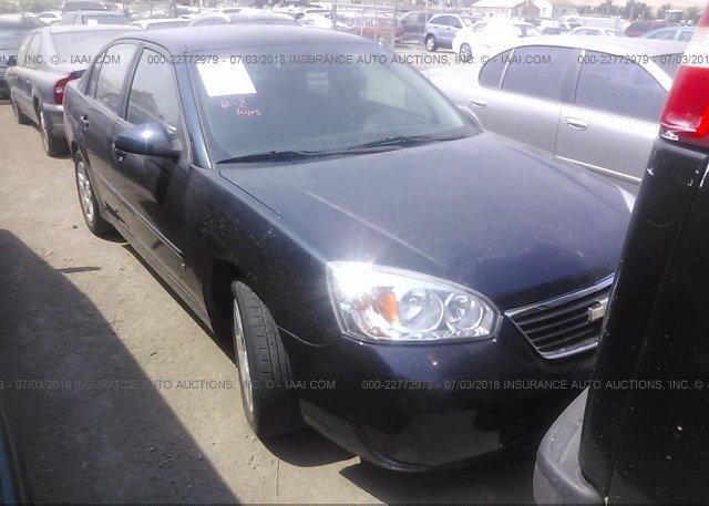 Inventory #620733145 2006 Chevrolet MALIBU