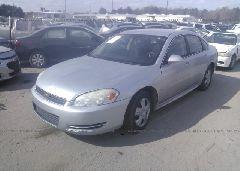2010 Chevrolet IMPALA - 2G1WA5EN2A1234258 Right View