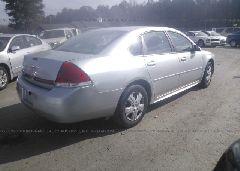 2010 Chevrolet IMPALA - 2G1WA5EN2A1234258 rear view