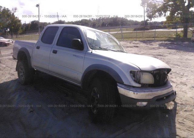 Inventory #296011119 2001 Toyota TACOMA