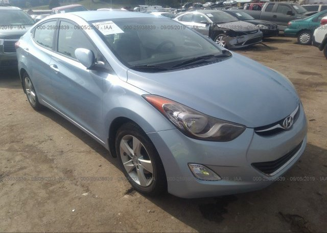 Inventory #655919451 2012 Hyundai ELANTRA