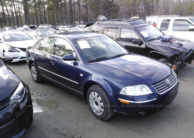 Inventory #684554833 2002 Volkswagen PASSAT
