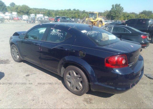 купить 2014 Dodge AVENGER 1C3CDZAG0EN235711