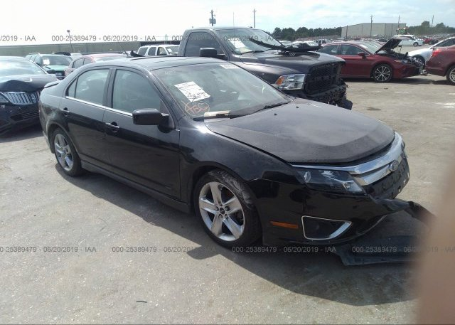 Inventory #576603322 2010 FORD FUSION