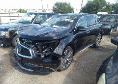 2019 ACURA MDX - 5J8YD3H57KL001738 Right View