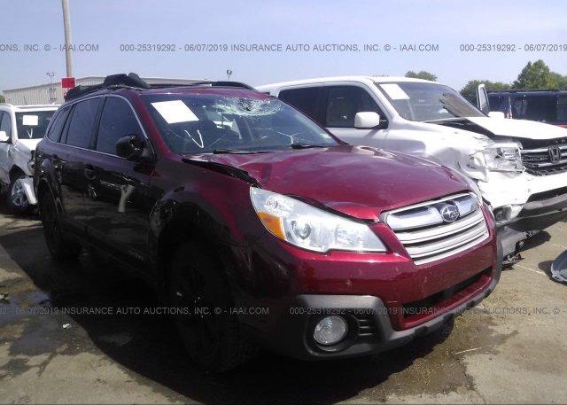 Inventory #825513911 2013 Subaru OUTBACK