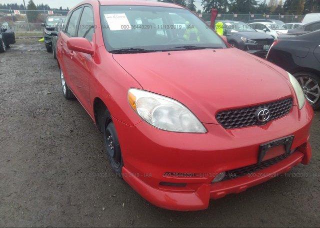 Inventory #410224470 2003 Toyota COROLLA MATRIX