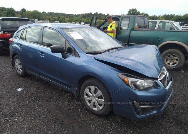Inventory #205161643 2015 Subaru IMPREZA