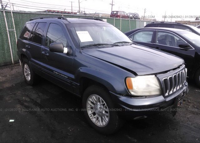 Inventory #553737129 2002 JEEP GRAND CHEROKEE