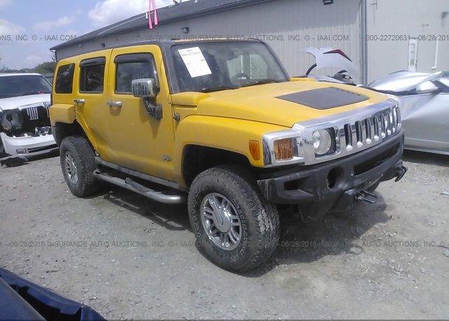 5gtdn136368299544 Salvage Yellow Hummer H3 At Acworth Ga On Online