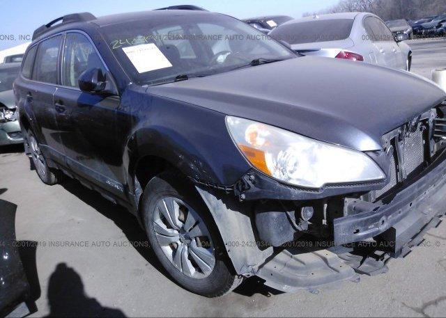 Inventory #115625774 2011 Subaru OUTBACK