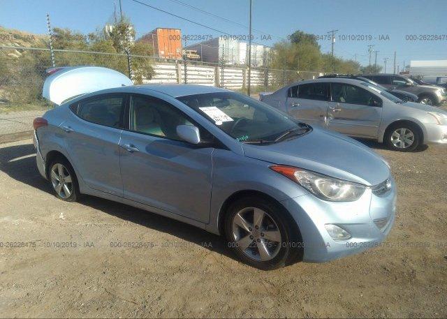 Inventory #758482445 2013 Hyundai ELANTRA