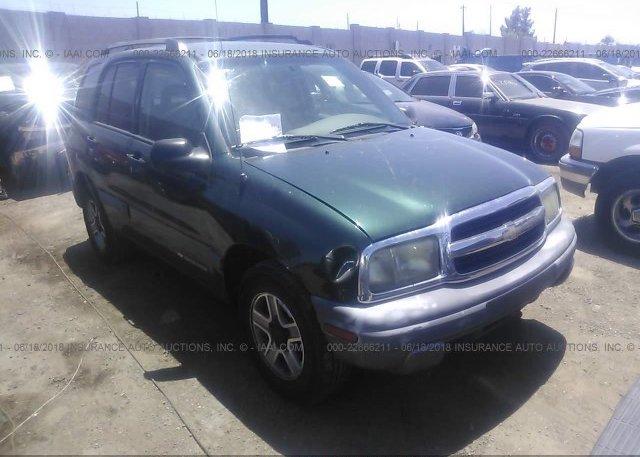 Inventory #135167157 2003 Chevrolet TRACKER