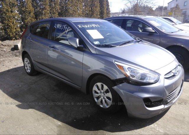 Inventory #742895757 2016 Hyundai ACCENT
