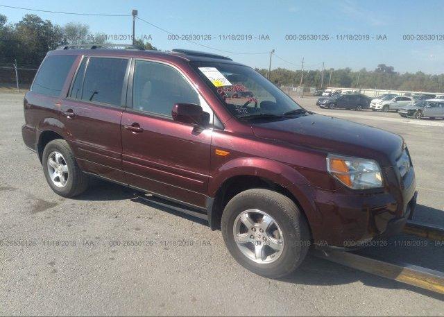 Inventory #654996086 2008 Honda PILOT