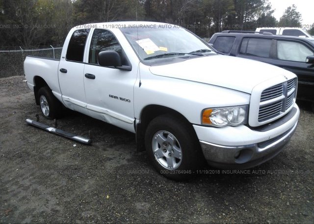 Inventory #779887102 2002 Dodge RAM 1500