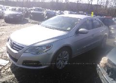 2010 Volkswagen CC - WVWMP7AN3AE543198 Right View