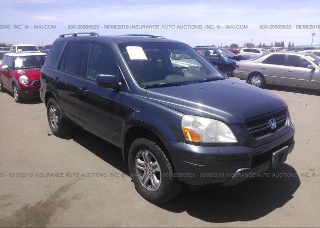 Inventory #153424798 2005 Honda PILOT