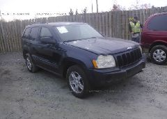 2005 JEEP GRAND CHEROKEE - 1J4GS48K85C634002 Left View