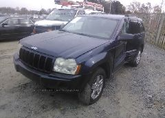 2005 JEEP GRAND CHEROKEE - 1J4GS48K85C634002 Right View