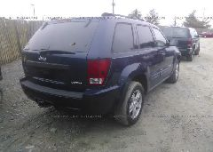 2005 JEEP GRAND CHEROKEE - 1J4GS48K85C634002 rear view
