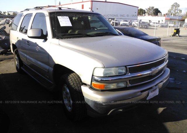Inventory #275008244 2004 Chevrolet TAHOE