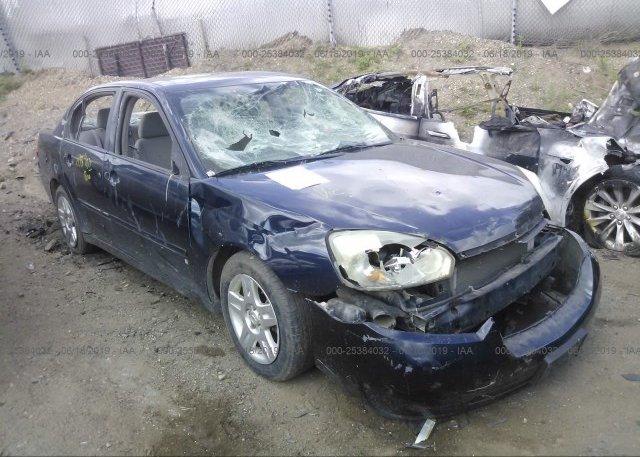 Inventory #611385301 2007 Chevrolet MALIBU