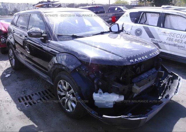 Inventory #183574583 2015 Land Rover RANGE ROVER EVOQU