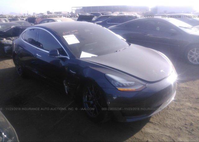 Inventory #144537723 2018 Tesla MODEL 3