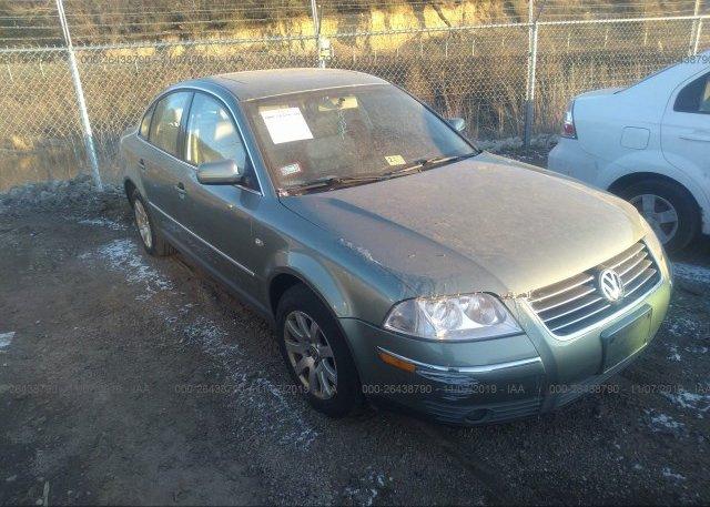 Inventory #755391913 2002 Volkswagen PASSAT