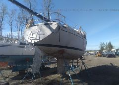 1977 S2YACHTS 30FT - SSU31118M77K rear view