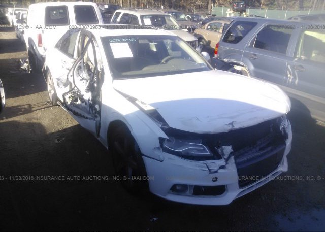 WAUDF68E95A475292, Salvage-Parts Only red Audi A4 at EAST