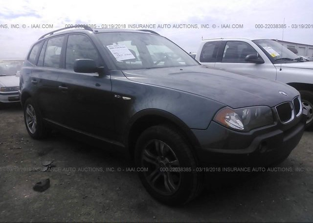 WBXPA93475WD04368, Salvage gray Bmw X3 at CLAYTON, NC on online ...