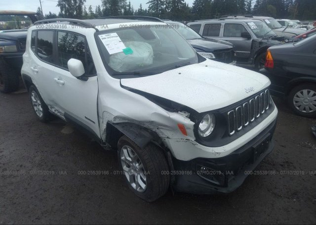 Inventory #681977028 2017 JEEP RENEGADE