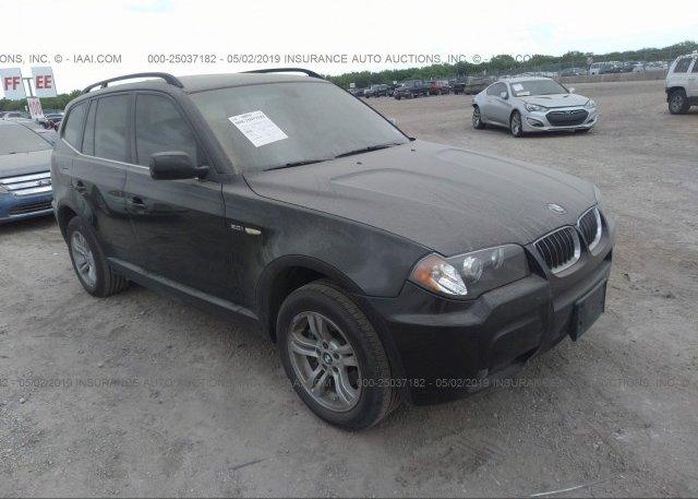 Inventory #654911225 2006 BMW X3