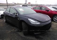 2018 TESLA MODEL 3 - 5YJ3E1EB8JF097076 Left View