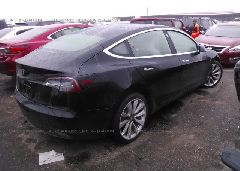 2018 TESLA MODEL 3 - 5YJ3E1EB8JF097076 rear view
