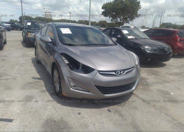 Inventory #533339940 2015 Hyundai ELANTRA