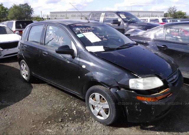Inventory #221958528 2008 Chevrolet AVEO