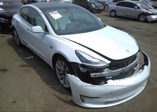 Inventory #356489155 2018 Tesla MODEL 3