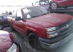 2003 Chevrolet SILVERADO - 2GCEC19V731102700 Left View