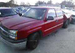 2003 Chevrolet SILVERADO - 2GCEC19V731102700 Right View